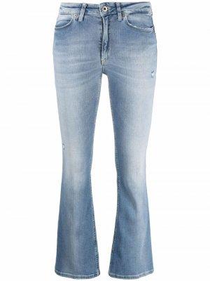 Укороченные расклешенные джинсы Dondup. Цвет: синий