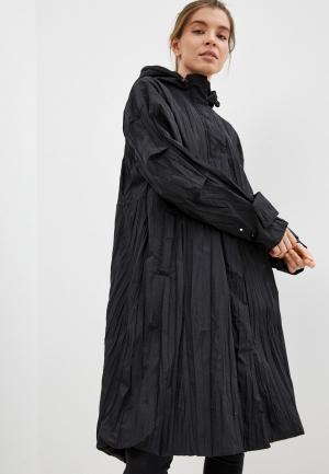 Плащ adidas W STL LONG JKT. Цвет: черный