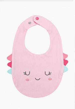 Слюнявчик Chicco. Цвет: розовый