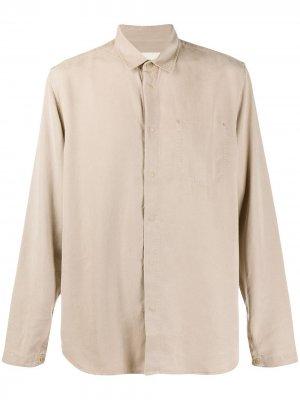 Рубашка прямого кроя Folk. Цвет: нейтральные цвета