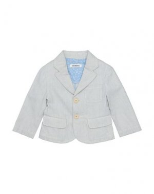 Пиджак BIKKEMBERGS. Цвет: светло-серый