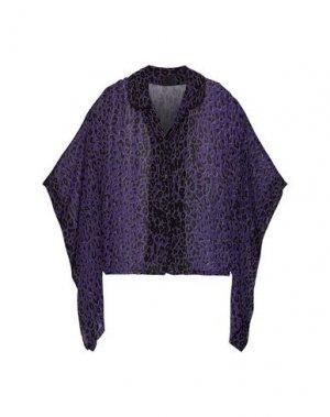 Pубашка ANNA SUI. Цвет: фиолетовый