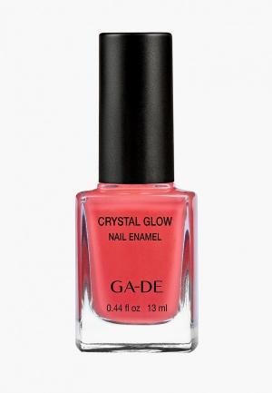 Лак для ногтей Ga-De № 534. Цвет: коралловый