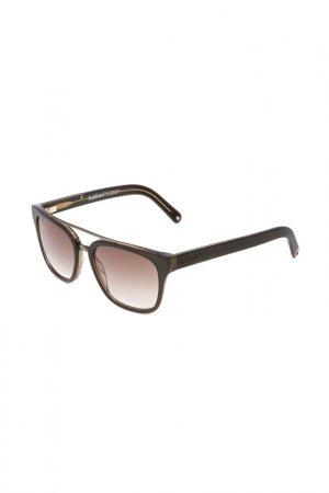 Очки солнцезащитные Baldinini. Цвет: черный