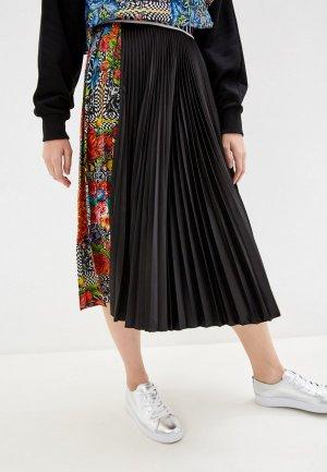Юбка Versace Jeans Couture. Цвет: черный