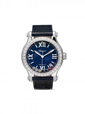 Наручные часы Happy Sport London 35 мм ограниченной серии Chopard. Цвет: stainless steel