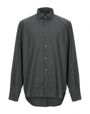 Pубашка BROOKSFIELD. Цвет: темно-зеленый