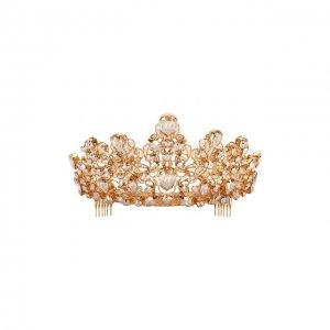 Диадема Dolce & Gabbana. Цвет: золотой