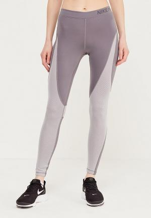 Тайтсы Nike Womens Pro Hypercool Tights. Цвет: серый
