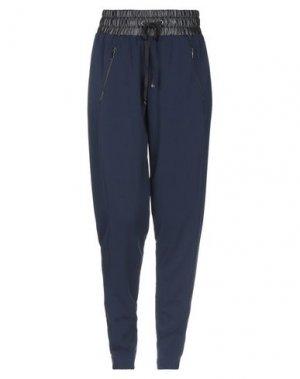 Повседневные брюки DAVID LERNER. Цвет: темно-синий