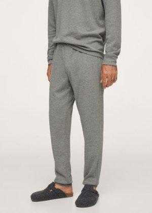 Комплект пижама из хлопка - Merlo Mango. Цвет: серый