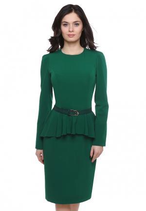 Платье Grey Cat BEYSY. Цвет: зеленый