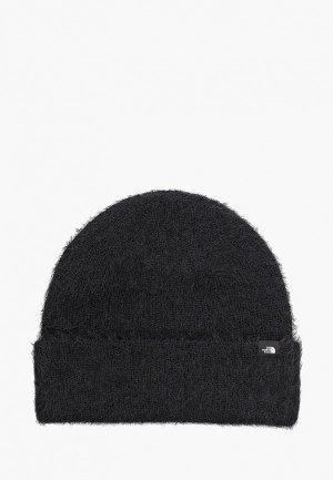 Шапка The North Face PLUSH BEANIE. Цвет: черный