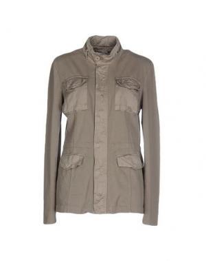 Куртка EUROPEAN CULTURE. Цвет: серый