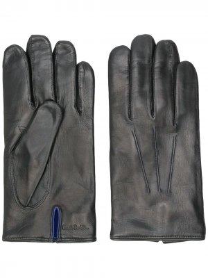 Классические перчатки Paul Smith. Цвет: черный