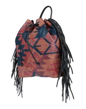 Рюкзаки и сумки на пояс CATERINA LUCCHI. Цвет: коралловый
