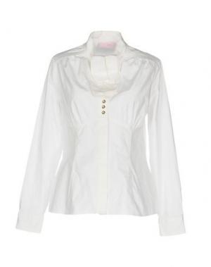 Pубашка CLIPS MORE. Цвет: белый