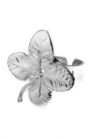 Кольцо Ester Bijoux. Цвет: серебряный