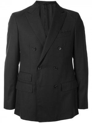 Durban двубортный пиджак D'urban. Цвет: черный