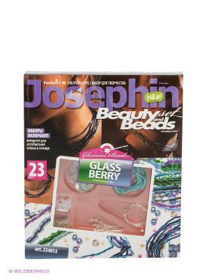 Набор Бусы №23 Josephine. Цвет: коричневый