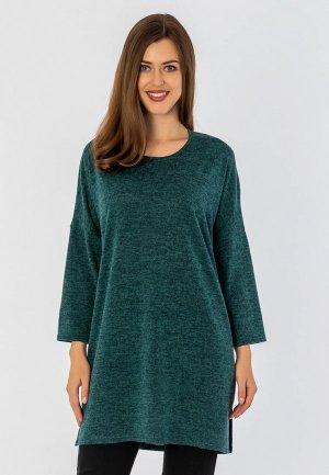 Туника S&A Style. Цвет: зеленый