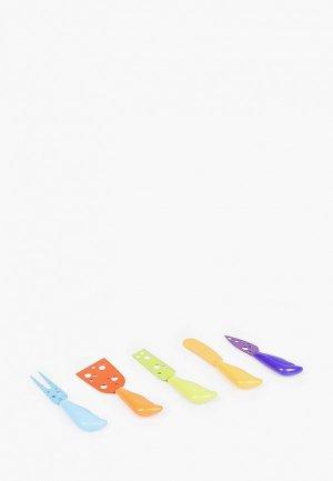 Набор кухонных ножей Homsu для сыра. Цвет: разноцветный