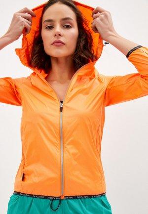 Ветровка Patrizia Pepe. Цвет: оранжевый