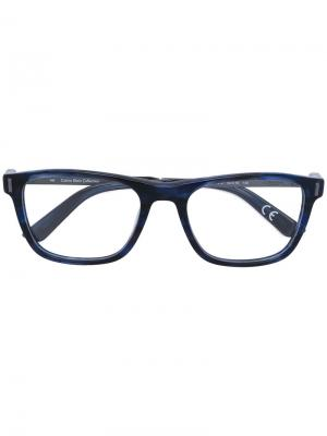 Printed glasses frame Calvin Klein. Цвет: синий
