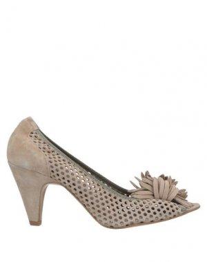Туфли ALBERTO BRESSAN. Цвет: серый