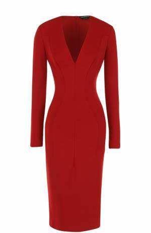 Платье Tom Ford. Цвет: красный