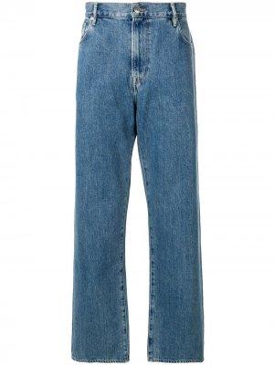 Широкие джинсы Burberry. Цвет: синий