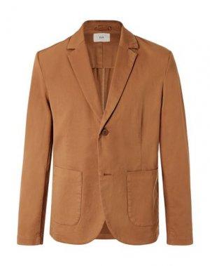 Пиджак FOLK. Цвет: коричневый