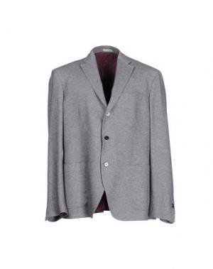 Пиджак ANGELO NARDELLI. Цвет: серый