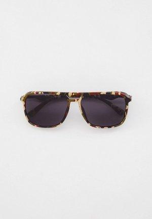 Очки солнцезащитные Marco Bonne`. Цвет: разноцветный