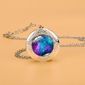 Ожерелье галактики SHEIN. Цвет: многоцветный