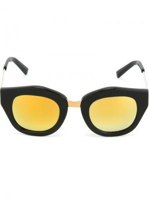 Солнцезащитные очки Mon Amour Spektre. Цвет: чёрный
