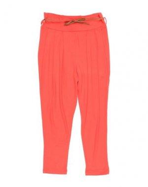 Повседневные брюки JUNIOR GAULTIER. Цвет: оранжевый