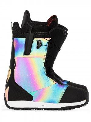 Ботинки для сноуборда Ion Boa Burton AK. Цвет: черный