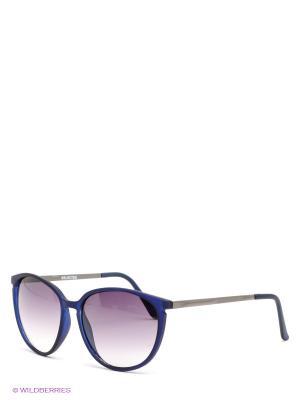 Солнцезащитные очки SELECTED. Цвет: синий, черный
