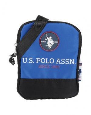 Сумка через плечо U.S.POLO ASSN.. Цвет: синий
