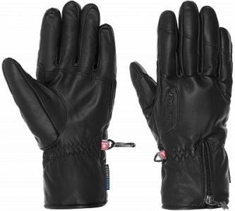 Перчатки мужские Galdino, размер 8 Ziener. Цвет: черный