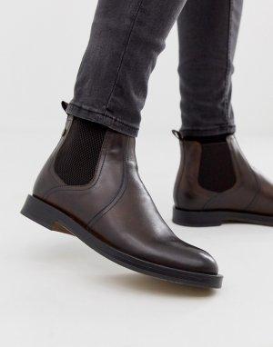 Коричневые ботинки челси Rossetti-Коричневый Base London
