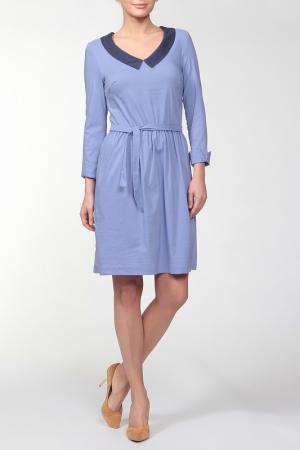 Платье Joe Suis. Цвет: голубой