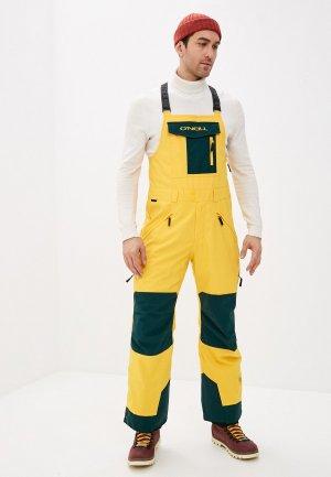Брюки сноубордические ONeill O'Neill PM ORIGINAL BIB PANTS. Цвет: желтый
