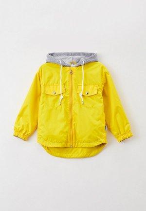 Куртка Boom. Цвет: желтый