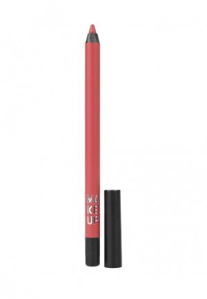 Карандаш для губ Make Up Factory Color Perfection Lip Liner т.12 Палисандр. Цвет: бордовый
