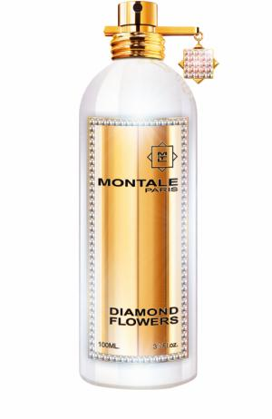 Парфюмерная вода Diamond Flowers Бриллиантовая коллекция Montale. Цвет: бесцветный