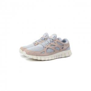 Кроссовки Free Run 2 NikeLab. Цвет: серый
