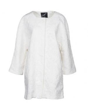 Легкое пальто G.SEL. Цвет: белый