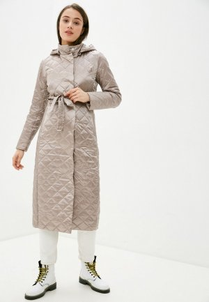 Куртка утепленная Conso Wear. Цвет: бежевый